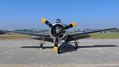 N55500 - North American T-28B Trojan - Private