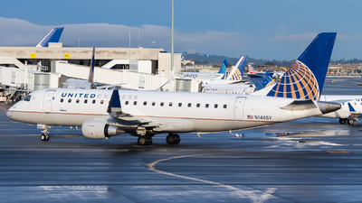 A picture of N146SY - Embraer E175LR - United Airlines - © Chris Phan