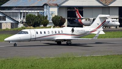 A picture of VHPFS - Learjet 45 - [45168] - © Fahmun