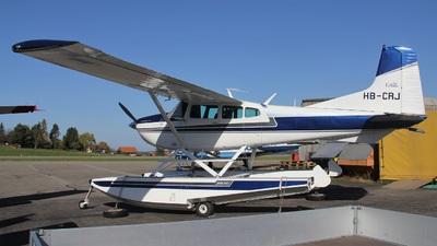 A picture of HBCRJ - Cessna 180J Skywagon - [18052645] - © Manueljb