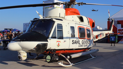 TCSG-505 - Agusta-Bell AB-412SAR - Turkey - Coast Guard