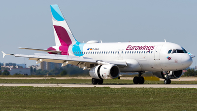 A picture of DAGWN - Airbus A319132 - Eurowings - © Alexander Lebedev