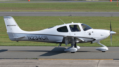 N234CR - Cirrus SR22T - Private