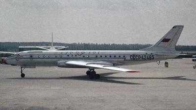 CCCP-42465 - Tupolev Tu-104B - Aeroflot