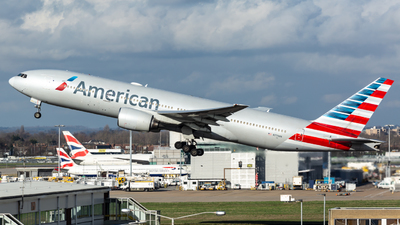 A picture of N779AN - Boeing 777223(ER) - American Airlines - © Leo Sheng