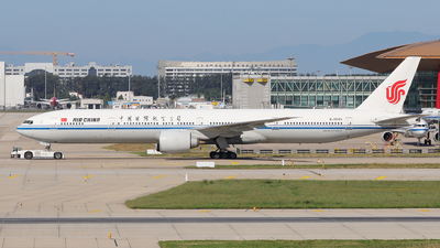 A picture of B2045 - Boeing 77739L(ER) - Air China - © David Tian