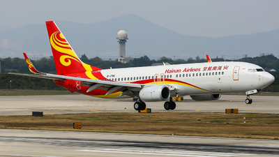 B-1796 - Boeing 737-84P - Hainan Airlines