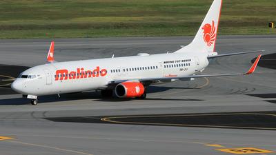 9M-LNJ - Boeing 737-9GPER - Malindo Air