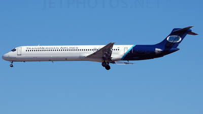N14816 - McDonnell Douglas MD-82 - TransMeridian Airlines (TMA)