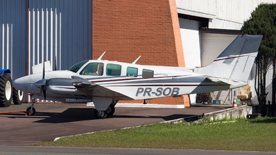 PR-SOB - Beechcraft 58 Baron - Brazil - Government of Parana