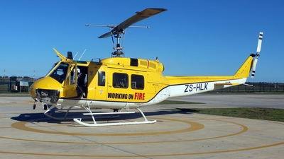 ZS-HLK - Bell HH-1H Iroquois - South Africa - Department of Agriculture