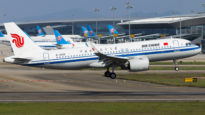A picture of B30DE - Airbus A320271N - Air China - © YZXL