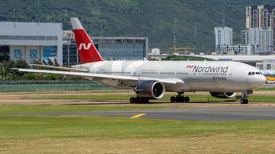 A picture of VPBJG - Boeing 7772Q8(ER) - Nordwind Airlines - © xujunlang0420