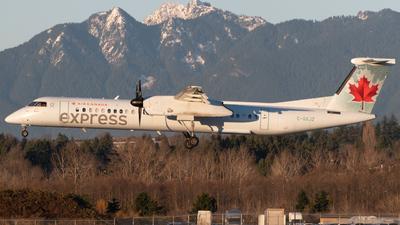 A picture of CGXJZ - De Havilland Canada Dash 8400 - Air Canada - © Thomas Lin