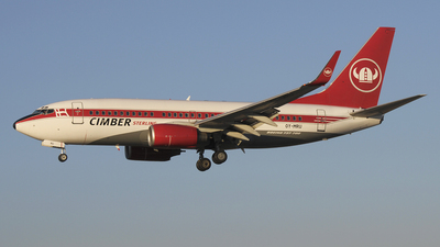 OY-MRU - Boeing 737-73S - Cimber Sterling Airlines