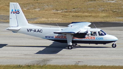 VP-AAC - Britten-Norman BN-2A Islander - Anguilla Air Services