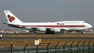 HS-TGL - Boeing 747-4D7 - Thai Airways International