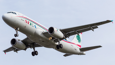 OD-MRT - Airbus A320-232 - Middle East Airlines (MEA)