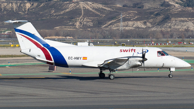 A picture of ECHMY - Embraer EMB120FC Brasilia - Swiftair - © Mateo León