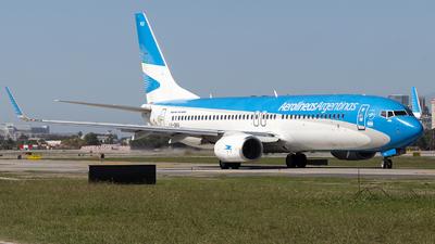 LV-GKU - Boeing 737-887 - Aerolíneas Argentinas