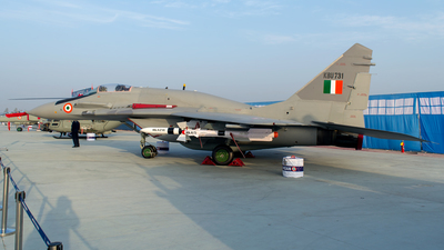 KBU731 - Mikoyan-Gurevich MiG-29UPG Fulcrum - India - Air Force