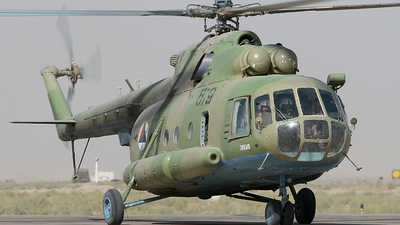 579 - Mil Mi-8MTV-1 Hip - Afghanistan - Air Force