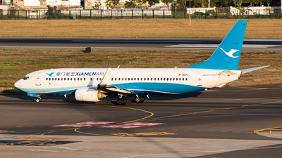 A picture of B5630 - Boeing 73785C - Xiamen Air - © AndySpotter