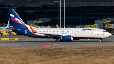 A picture of VPBMD - Boeing 7378MC - Aeroflot - © Chris de Breun