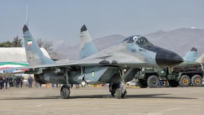 3-6118 - Mikoyan-Gurevich MiG-29A Fulcrum - Iran - Air Force
