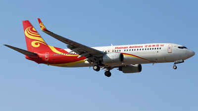 A picture of B5417 - Boeing 73786N - Hainan Airlines - © pear_blossom
