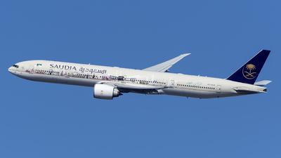 HZ-AK28 - Boeing 777-368ER - Saudi Arabian Airlines