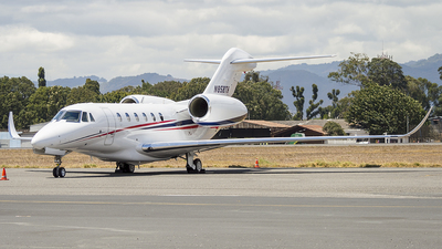 N858TH - Cessna 750 Citation X - Private