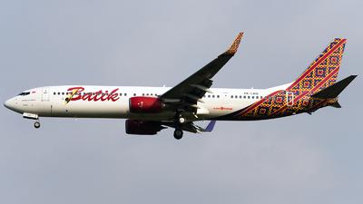 A picture of PKLBG - Boeing 7379GP(ER) - Batik Air - © Bernard Effendy