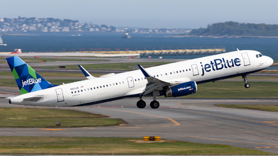A picture of N913JB - Airbus A321231 - JetBlue Airways - © HAOFENG YU