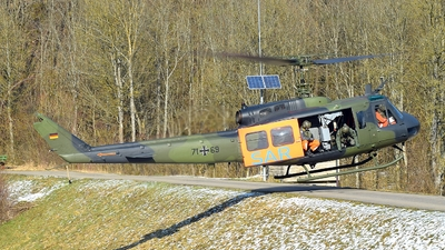 71-69 - Bell UH-1D Iroquois - Germany - Air Force