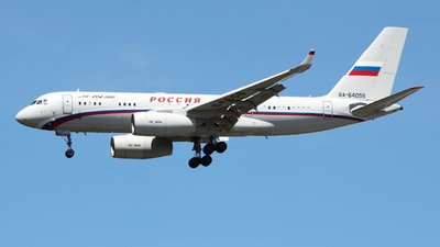 RA-64059 - Tupolev Tu-204-300 - Rossiya - Special Flight Squadron