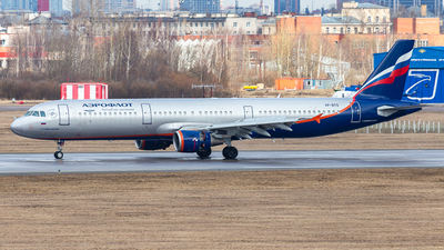 A picture of VPBTG - Airbus A321211 - Aeroflot - © Yan Syrbo