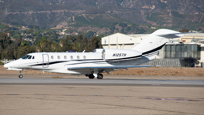 A picture of N125TH - Cessna 750 Citation X - Delta Private Jets - © Beck Ramsey