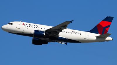 N345NB - Airbus A319-114 - Delta Air Lines