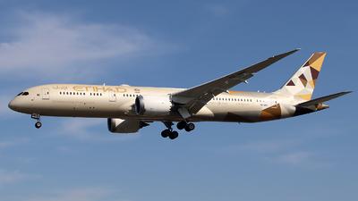 A picture of A6BNC - Boeing 7879 Dreamliner - Etihad Airways - © n94504