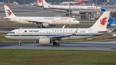 B-309H - Airbus A320-271N - Air China