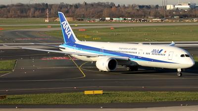 JA891A - Boeing 787-9 Dreamliner - All Nippon Airways (ANA)