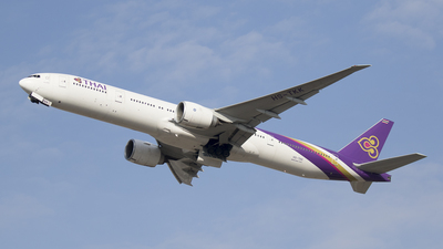 HS-TKK - Boeing 777-3ALER - Thai Airways International