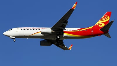 A picture of B1495 - Boeing 73784P - Hainan Airlines - © wangpaul
