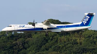 A picture of JA843A - De Havilland Canada Dash 8400 - All Nippon Airways - © Yukio023