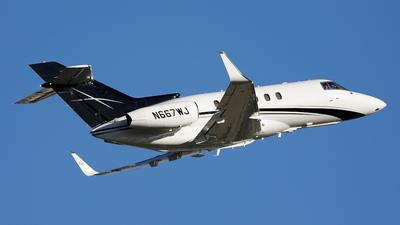 N667WJ - Hawker Beechcraft 800XP - Private