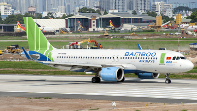 VN-A599 - Airbus A320-251N - Bamboo Airways