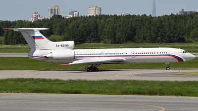 A picture of RA85155 - Tupolev Tu154M -  - © Luba Ostrovskaya