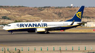 A picture of EIDHF - Boeing 7378AS - Ryanair - © Alejandro Gutierrez Martin