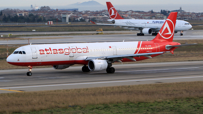 TC-ATB - Airbus A321-211 - AtlasGlobal